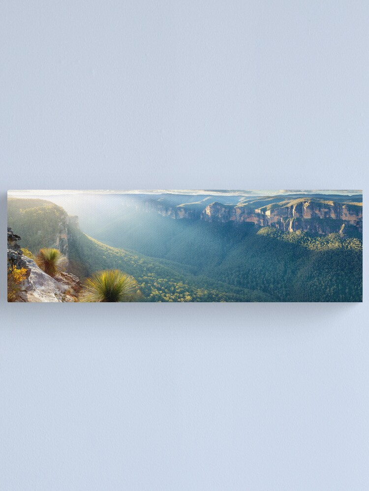 Alternate view of Perrys Lookdown, Blue Mountains, New South Wales, Australia Canvas Print