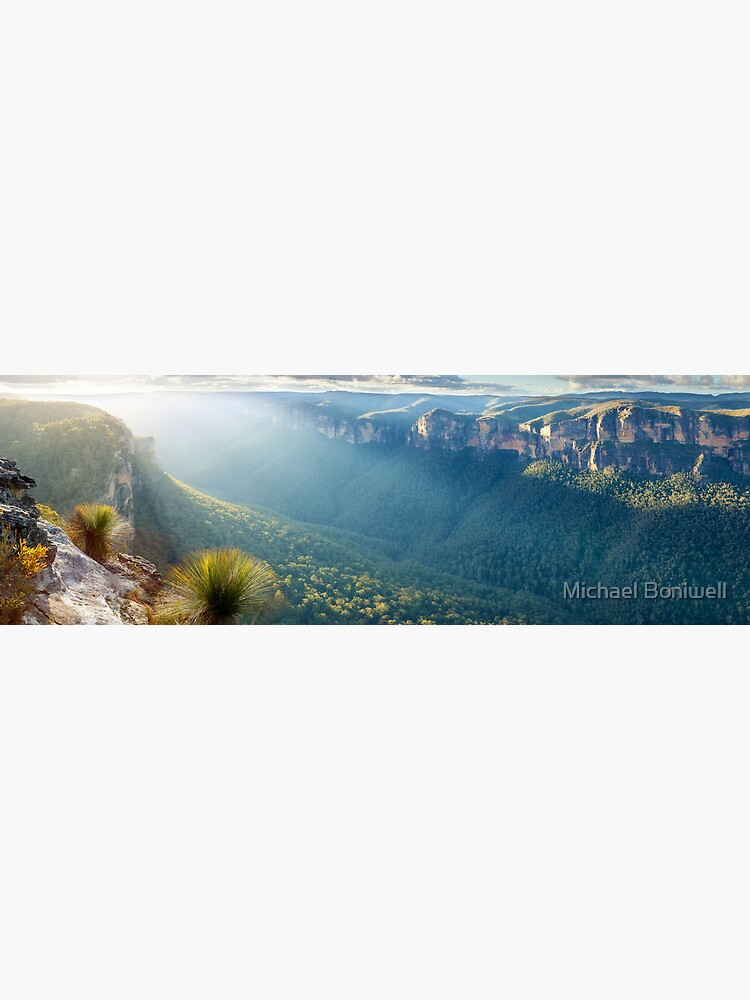 Perrys Lookdown, Blue Mountains, New South Wales, Australia by Chockstone