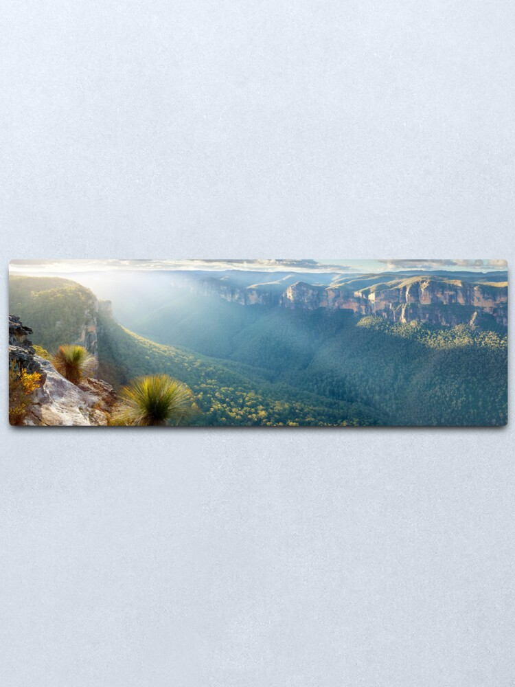 Alternate view of Perrys Lookdown, Blue Mountains, New South Wales, Australia Metal Print
