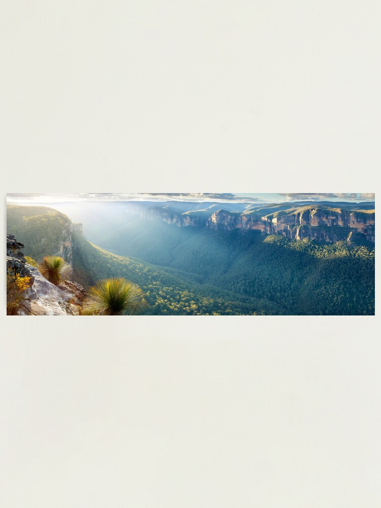 Alternate view of Perrys Lookdown, Blue Mountains, New South Wales, Australia Photographic Print