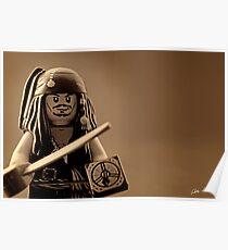 I am Captain Jack Sparrow Poster