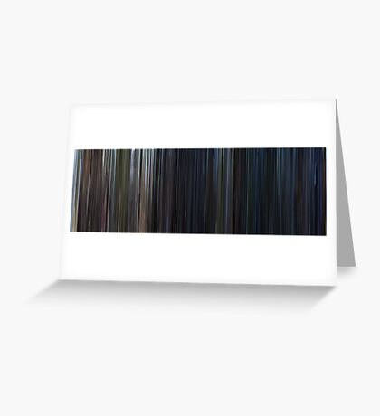 Moviebarcode: The Lost World: Jurassic Park (1997) Greeting Card