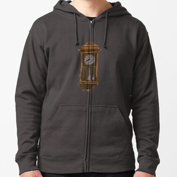 The old Times never come back Zipped Hoodie