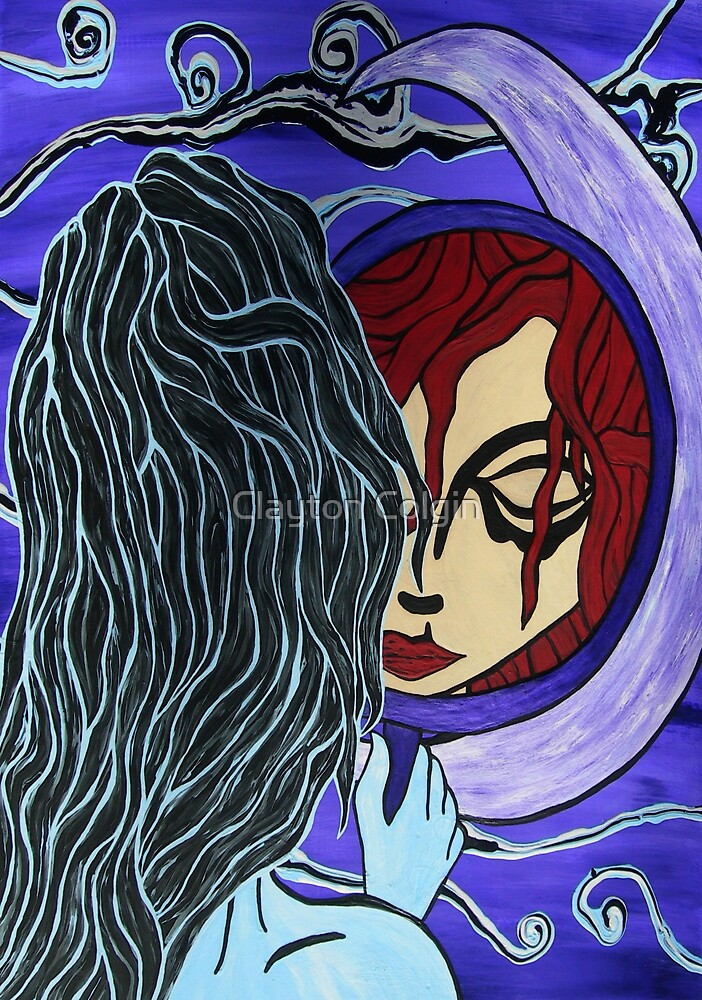 Moon Mirror by Clayton Colgin