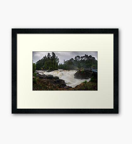 Weve had a bit of rain lately Framed Print