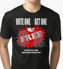 Democracy Tri-blend T-Shirt