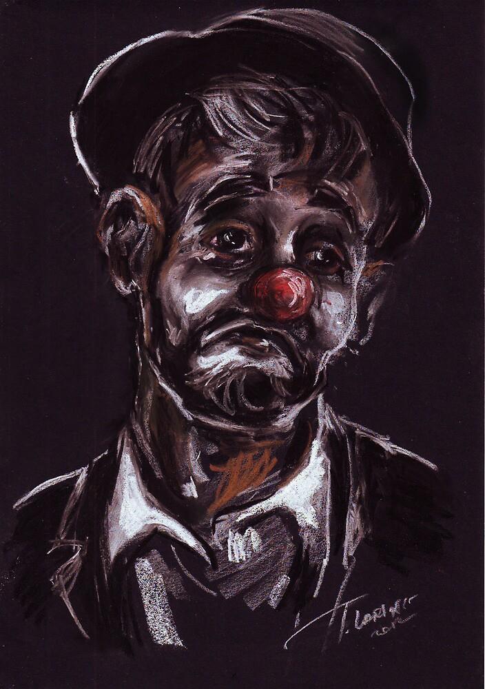 """""""Clown"""" by Tatjana Larina"""