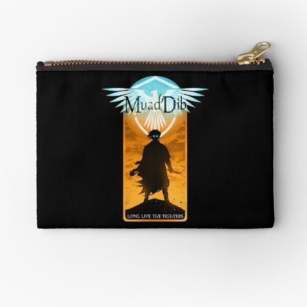 Muad'Dib - Long Live the Fighters v2 Zipper Pouch
