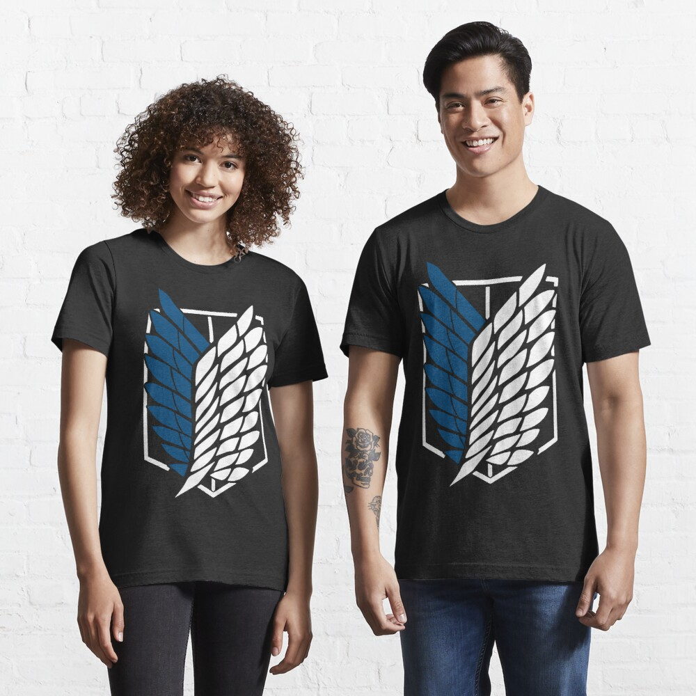 Dark Fantasy Anime Attack on Titan The Scouting Legion Design Essential T-Shirt