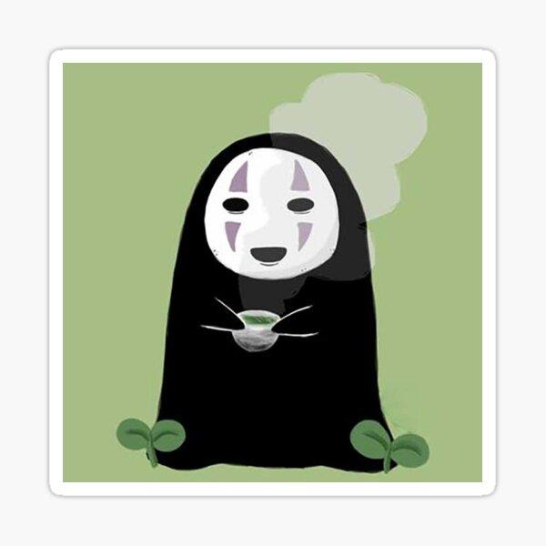 Kaonashi's drinking tea Sticker