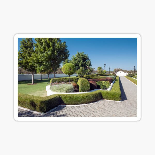 Topiary Gardens #3 Sticker
