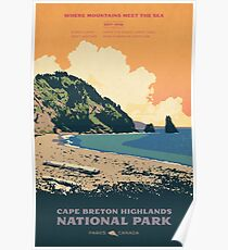 Cape Breton Highlands National Park poster Poster