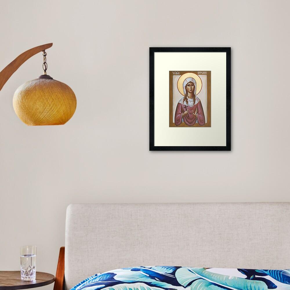 St Kyriaki Framed Art Print