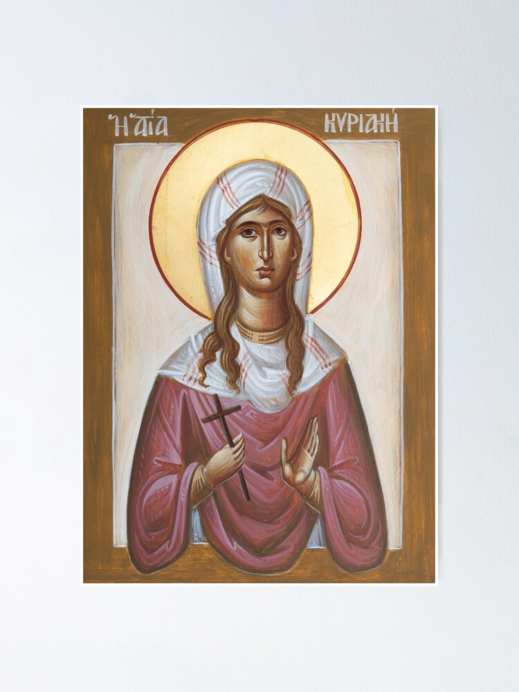 Alternate view of St Kyriaki Poster