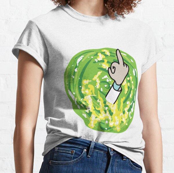 Rick Middle Finger Classic T-Shirt