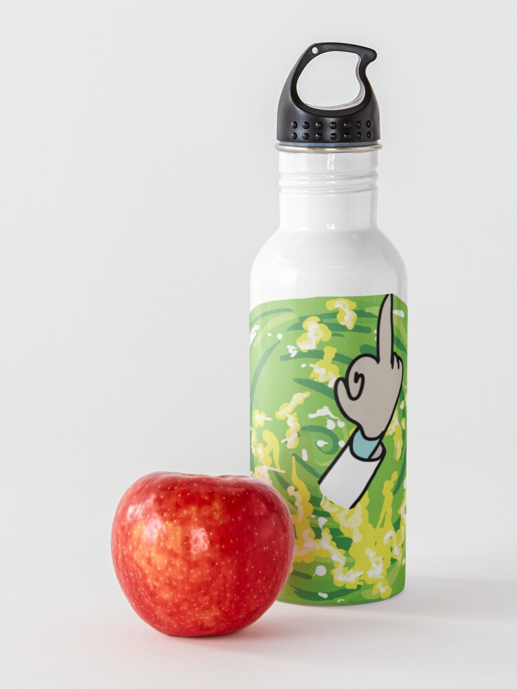 Alternate view of Rick Middle Finger Water Bottle