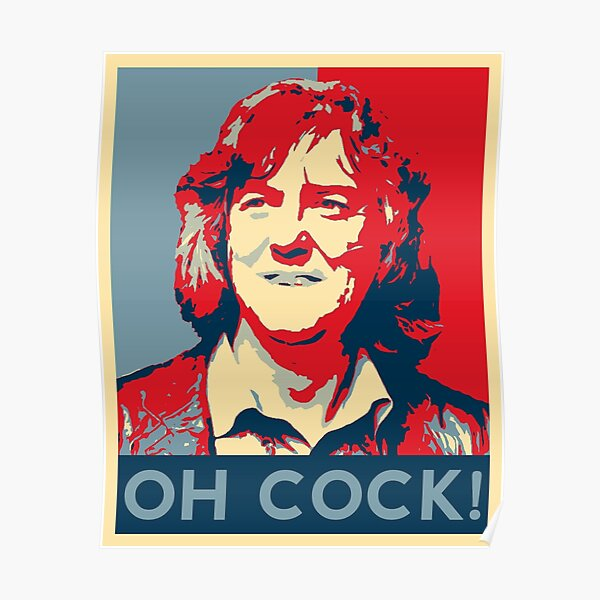 James May - Oh Cock! Poster