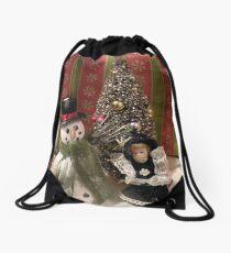 A christmas sence Drawstring Bag