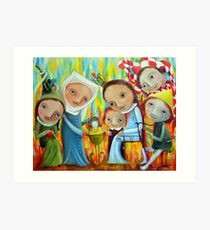 Nannies Art Print