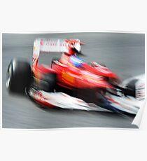 Ferrari Formula One Racecar Poster