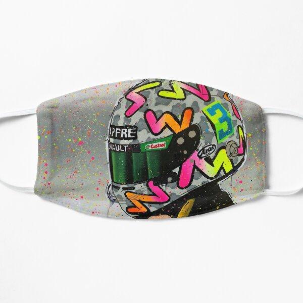 Daniel Ricciardo 2020 - Renault F1 graffiti painting by DRAutoArt Flat Mask