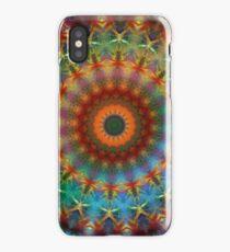 Orange Earth Rainbow mandala iPhone case iPhone Case