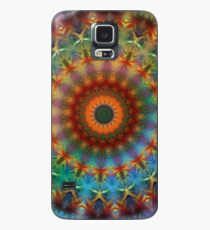 Orange Earth Rainbow mandala iPhone case Case/Skin for Samsung Galaxy
