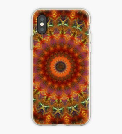 Orange Earth Mandala iPhone case iPhone Case