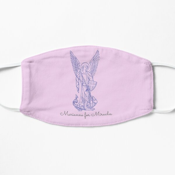 Marianne for Miracles Flat Mask