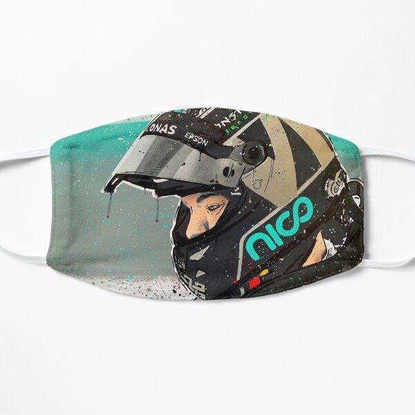 Nico Rosberg F1 graffiti painting by DRAutoArt Flat Mask