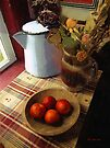 Farmhouse Fruit and Flowers by RC deWinter