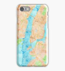 New York Watercolor Poster iPhone Case/Skin