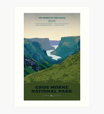 Gros Morne National Park Art Print