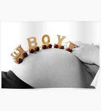 My little boy is coming. Poster