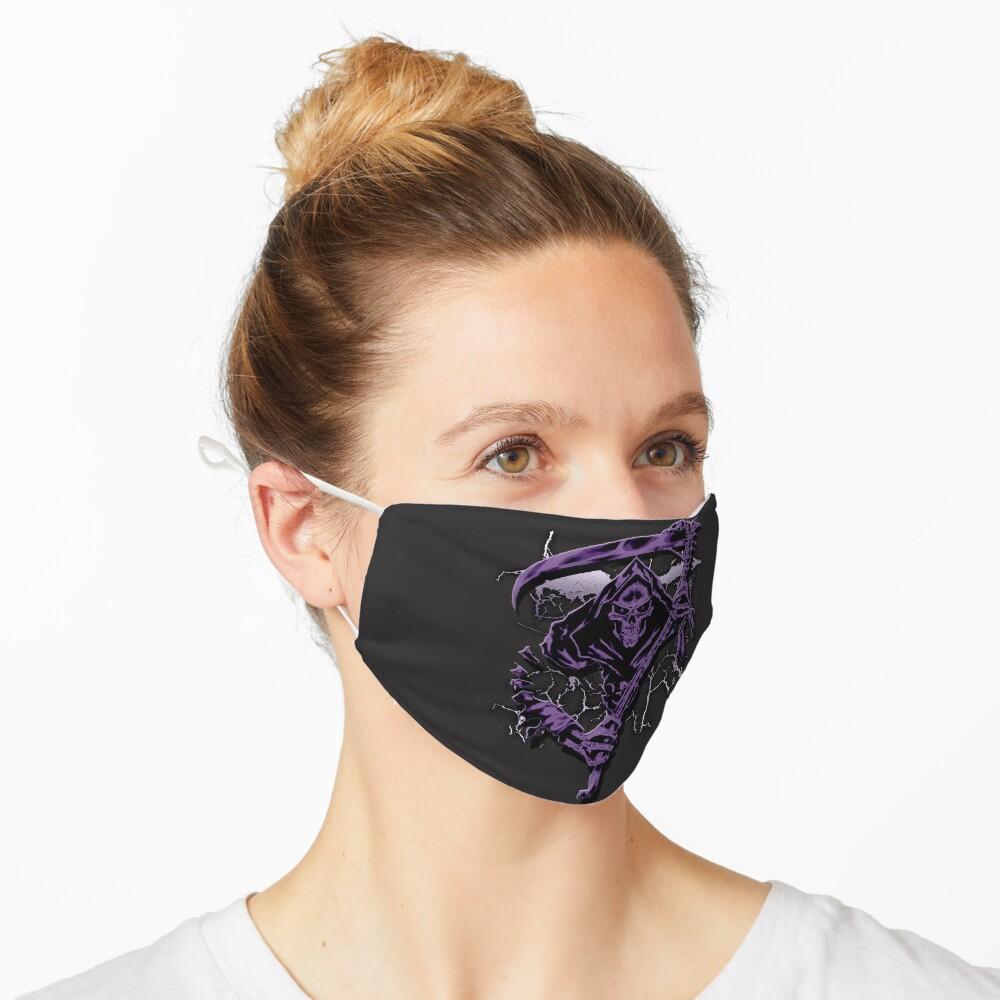 Dark Purple Grim Reaper Mask Mask