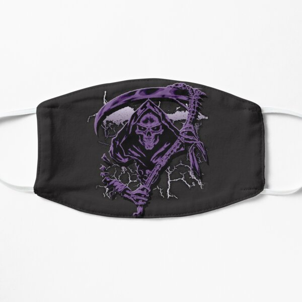 Dark Purple Grim Reaper Mask Mask