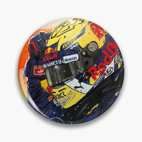 Max Verstappen - 2019 F1 graffiti painting by DRAutoArt Pin