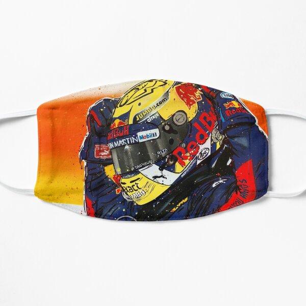Max Verstappen - 2019 F1 graffiti painting by DRAutoArt Flat Mask