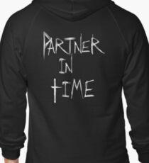 Partner in Time DARK Zipped Hoodie