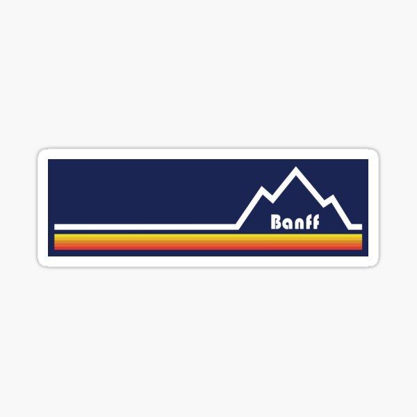 Banff, Alberta Sticker