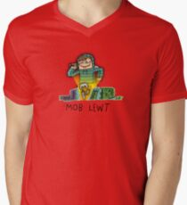 Mob Lewt Men's V-Neck T-Shirt