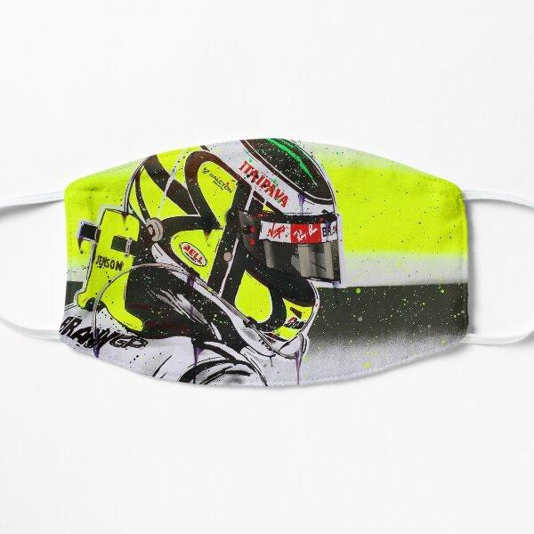 Jenson Button - Brawn GP F1 graffiti painting by DRAutoArt Flat Mask