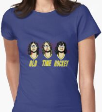 Old Time Hockey Womens Fitted T-Shirt