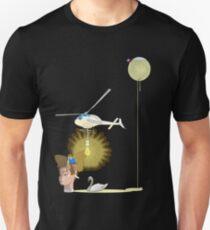 flying light Unisex T-Shirt