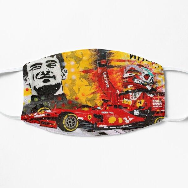 """Charles Leclerc """"Prima Vittoria"""" graffiti painting by DRAutoArt Flat Mask"""