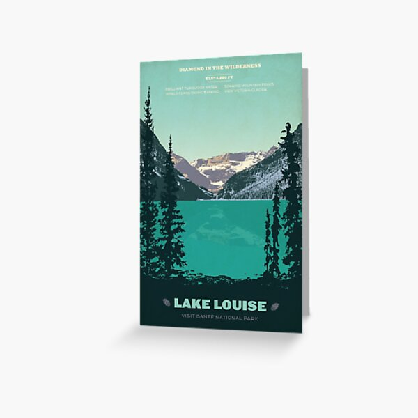 Lake Louise Greeting Card