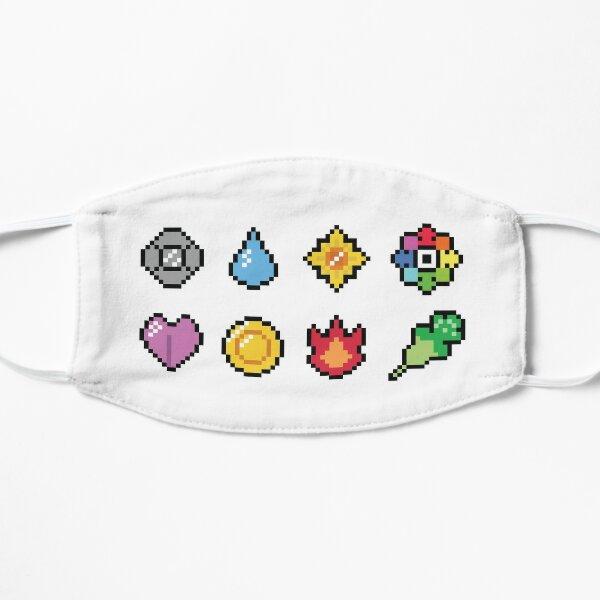 Pokemon pixel gym badges Mask