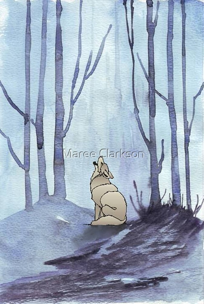 From silvery woods there comes a call by Maree Clarkson