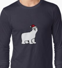 CHRISTMAS POLAR BEAR Long Sleeve T-Shirt