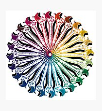 Wrench Color Wheel B Photographic Print